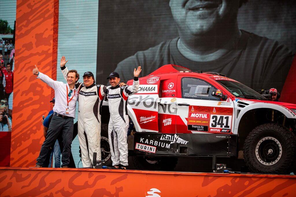 El Rally Dakar 2020 ha sido el mejor de la historia de SsangYong